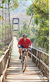Thailand biking photo